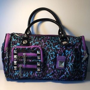 Betseyville Animal Print Bag-Blue/Purple 🔥